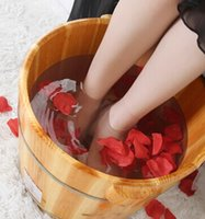 Wholesale mens foot cares lavipeditum foot bath barrel for everyone wooden barrel foot massage pedicure cask feet cares make feet comfortable