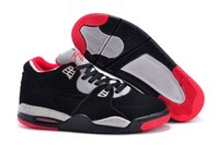 Wholesale hot sale new arrive shoes Air Flight Training Shoes for men black red