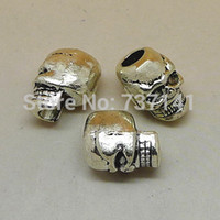 Wholesale Charm Metal Skull For Paracord Bracelet Knife Lanyards Accessories