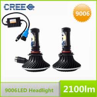 Wholesale Super White HB4 LED Car Headlight CREE Chips V Car LED Headlight W LM LED Headlight conversion Kit