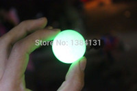 Wholesale Glow in the dark stone light quartz crystal balls grams of A g