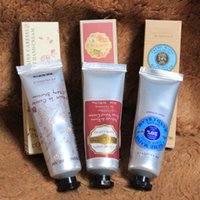 shea butter - Famous Brand Shea Butter cherry blossom rose hand cream with pieces pack suit mini hand lotions ml