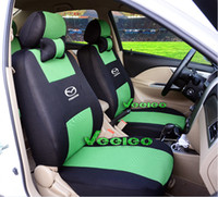 Wholesale Universal Seat Cover For MAZDA CX5 CX7 M2 M3 M6 With Breathable Material Airbag Compatible