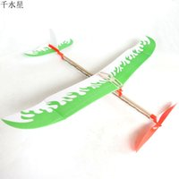 band assembly - The rubber band DIY assembly model aircraft aircraft creative youth aviation model toy