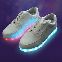 adult band camp - 2016 Camping Lamp Factory luminous shoes Colorful Running Sport shoes for dancer led running shoes Adult LED Light Up Shoes
