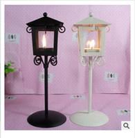 Wholesale 2014 colors Classical kiosk candlestick wedding creative home crafts lantern arts cratfs christmas party decoration topB929