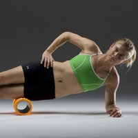 Yoga Blocks Liyo  33x14cm EVA Yoga Gym Pilates Fitness Exercise Foam Roller Massage Training Trigger Point Free Shipping