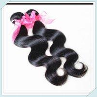 Wholesale On line g Bundle100 Remy Virgin Burmese Body Wavy Burmese Human Hair Extensions Rosa forever hair Natural Black longqi Hair
