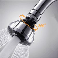 Wholesale 360 Degree Rotate Swivel Water Saving Tap Aerator Diffuser Faucet Nozzle Filter Adapter BestPromotion