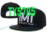 Wholesale 2015 mix order new arrival TMT Courtside Snapback Red Snapback hats snapback caps the money teams hats