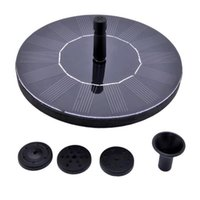 Wholesale New Water Pumps Floating Solar Pump Panel Power Fountain Pool Garden Plants Watering Kit VB177 W0 SUPS
