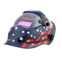 Wholesale 98 mm Auto darkening welding helmet welding mask MIG MAG TIG Yoga G War chariot arc sensor