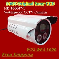 "Cheap 2015 New 1 3"" SONY CCD 1000TVL HD CCTV Camera Suitable for Outdoor With Feature of Waterproof Security Camera IR 100 meters"