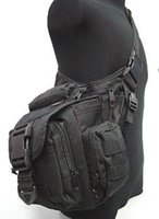Wholesale 100 brand new Tactical Utility Shoulder Pack Carrier Bag Messenger Bags Pouch BK