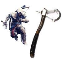 Wholesale Assassin s Creed III Connor Kenway DELUXE Axe Tomahawk Hatchet Cosplay Prop Costume Accessory