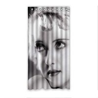 bette davis - Fashion New Bette Davis Bathroom Waterproof Fabric x72 inch Shower Curtain With Hooks
