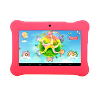 Wholesale US Stock iRULU Inch Kids Tablet PC Android Allwinner A33 Kids Tablets Quadcore Child Tablet PC With Case