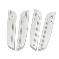 auto door edge guards - 4 Auto Car Side Door Edge Trim Guard Sticker Decoration Silver Tone Discount x x cm L W T