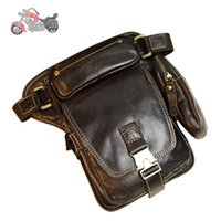 Wholesale Motorcycle Side Bag genuine leather Alforjas Moto Backpack Maletas Motocicleta bolsa pierna motocicleta ktm bag