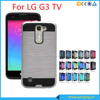 Wholesale For LG K3 ls450 stylus ls775 STYLO PLUS MS550 Armor Hybrid Brushed in1 Case Cover For huawei P9 PLUS