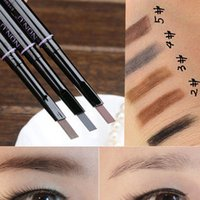best eyebrow liner - Best Fashion Women Makeup Cosmetic Eye Liner Eyebrow Pencil Beauty Tools Black Brown Gray Drop Shipping MU