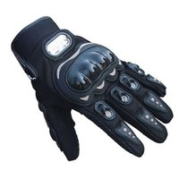 Wholesale S5Q Summer Outdoors Black Sports Motorbike D Dimensional Breathable Mesh Gloves AAAFDO