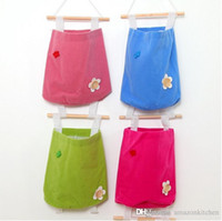 Wholesale Soft Velvet Storage Bags Back Door Hanger Bag Organizer Pouch Candy Color Freely Combination Amazon