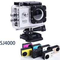 Wholesale 01 Original SJ4000 Action Camera Diving M Waterproof Camera P Full HD Helmet Underwater Sport Camcorder Gopro Electronic