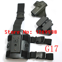 Wholesale Tactical Drop Leg Holster For Glock M92 kinds of styles Rotary Holster Magazine Carrier Leg Panel