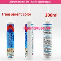 silicone sealant - 5pcs Waterproof Kafuter long term effective anti mildew weather sealant neutral silicone sealant Transparent color
