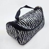 big makeup cases - Big Promotion Lady Portable Zebra Travel Bag Wash Storage Toiletry Pouch Cosmetic Case Makeup Bag Zipper ZD0054 Smileseller
