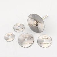 Wholesale 6Pcs Mini HSS Circular Saw Disc Blade Rotary Cutter For Metal Hand Tool Set New