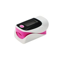 Wholesale 2013 New OLED screen fingertip pulse oximeter for home care pink Color