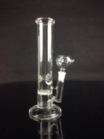 Wholesale Honeycomb percolater mm bong glass straight water pipe HOT dia mm cheap mini bong