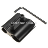 Wholesale Aluminum Tactical Barrel Ring Scope Mount with Hex Holder Flashlight Torch Laser Sight New