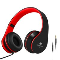 band jack white - Band Sound Intone I60 Stereo Lightweight Headset with Microphone mm Jack Portable Foldable Music Gaming Sport Headphones