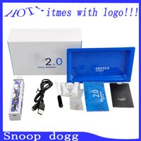 Cheap 2015 2200mAH Newest upgraded Snoop Dogg 2.0 herb vaporizer with temperature adjustment vs evod kit 0211202