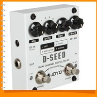 Wholesale New JOYO D SEED Mono Dual Channel Digital Delay Guitar Effect Pedal with Four Modes