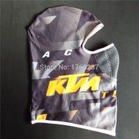 Wholesale New Mountain Bike Cycling Headwear BMX DH MTB Motorcycle Helmet Balaclava KTM Motocross Face Mask