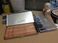 Wholesale 12pcs set Marco professional artist sketch drawing pencils set B H tin box lapices de grafito de alta calidad Cuadro lapiz