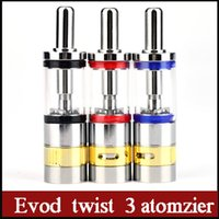 big electronic control - Evod twist atomzier newest M16 Electronic Cigarettes atomizer ml thread Airflow control max vapor Big tank