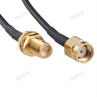Wholesale dealbox Approving New M Antenna RP SMA Extension Cable For Wi Fi Router RG174 Practical