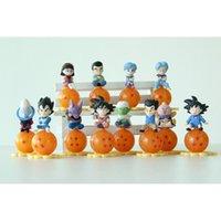 naruto - 12 Set cm Dragon Ball Z Battle of Gods Capsule dust plug dieux Goku Vegeta Picollo Daimao Gohan PVC Action Figures