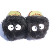Father's day adult bunny slippers - My Neighbour Totoro slippers Cosplay Plush Doll inch dusty bunny slippers red heros Adult Slipper
