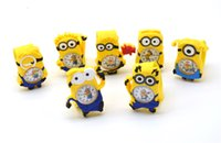 Wholesale 2015 Christmas Gift Despicable Me Cute Cartoon Watch Slap Snap Bendable Kids Bady Silicone Watches Free DHL
