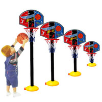 Cheap Super Children Basketball Sport Set Game Toy child fitness toys adjustable indoor outdoor Kids casual Fun & Sports TY1093