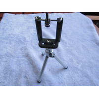 Wholesale Mini Camera Tripod Stand Holder mobile phone clip For Samsung Galaxy S2 S3 S4 Note dslr camera cell phone