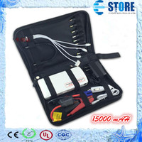battery jump leads - Mini Power Bank with LED Light V Hot Sale mAh Portable Jump Starter Car Battery Charger A