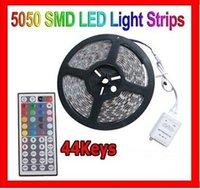 Wholesale SMD RGB LED Strip Light M Waterproof LEDS Flexible IP65 LED Strips Diode Tape Christmas Keys IR Remote Controler