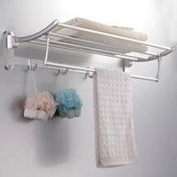 Wholesale Sanitary Ware Manufacturers collapsible metal pendant activities towel rack towel rack LA206